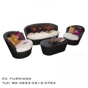 Set Sofa Tamu Rotan Ravenna
