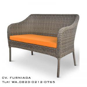 Bangku Sofa Rotan Travena