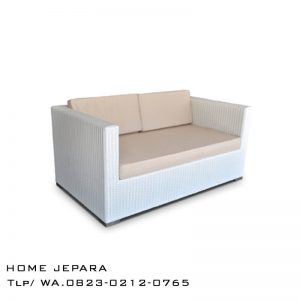Sofa Bangku Rotan Rinjani
